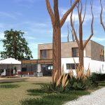 architecte renovation villa contemporaine gard
